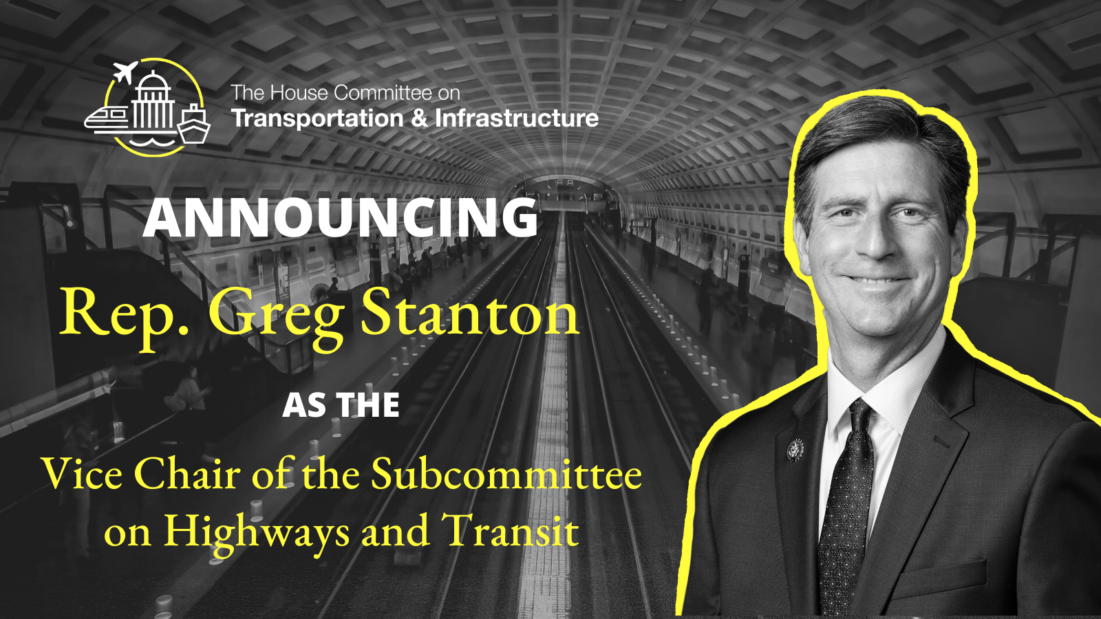 Vice Chair Subcommittee on Highways and Transit V2