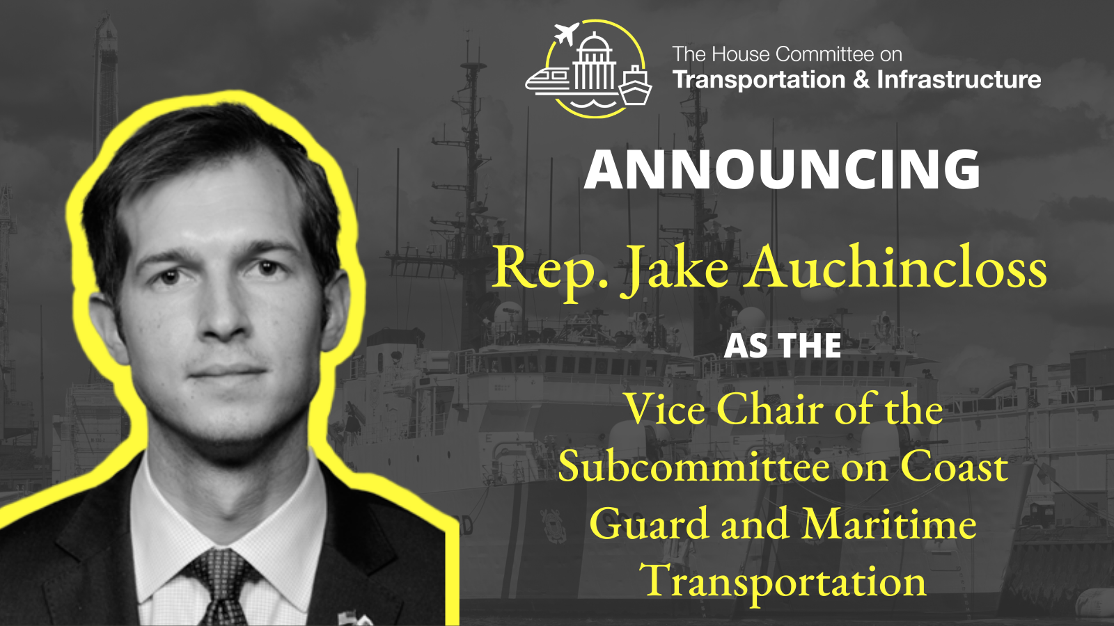 Vice Chair of Subcommittee on Coast Guard and Maritime Transportation 2021