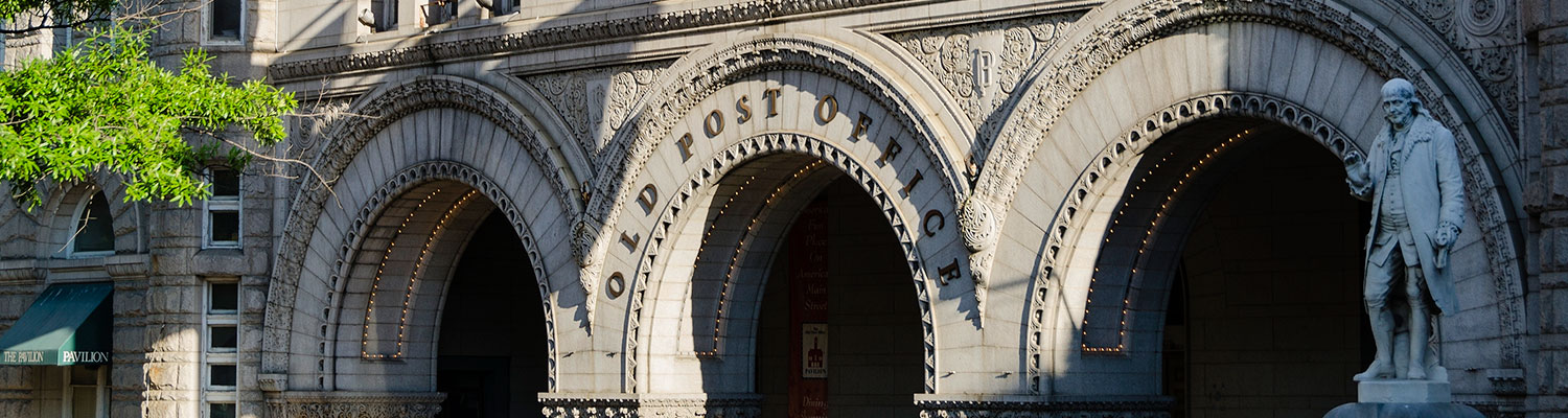 Old Post Office: Trump Hotel Oversight